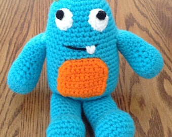 Crochet Simon the Little Monster, Made to Order