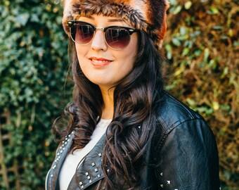 Auburn Faux Fur Hat