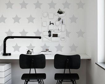 Stars Wall Decals, Stars Home Decor, Stars Decal, Home Office Decor, Stars Sticker, Kids Room Wall Decal, Each Star 4in X 4in, Decor, ID673