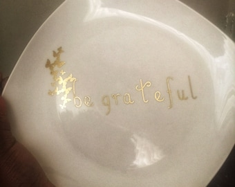 Personalize dinner plate