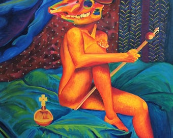 Immortal Sin ORIGINAL Oil Painting on Canvas