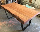 Live Edge Redwood Slab Ta...