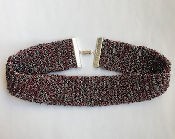 RED SPARKLE NECKLACE