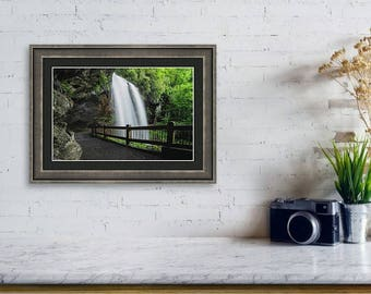 Landscape Photograph, Fine Art Print, Waterfall Photography, Free Shipping