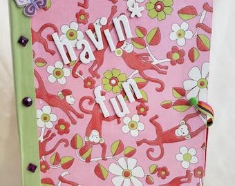 Handmade Monkey Journal/Notebook
