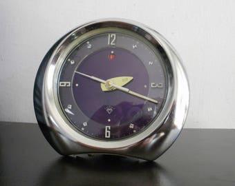 Vintage China alarm clock Diamond mechanical