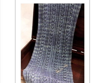 Endless Waves PDF Knitting Pattern NEW 2014