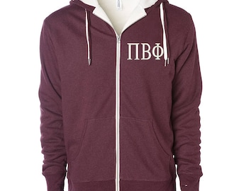 Pi Beta Phi Sherpa Lined Hoody,  Pi Beta Phi Hoodie, Pi Beta Phi Sweatshirt, Pi Beta Phi Zip Up Hoodie, Pi Beta Phi Sorority Gift Idea