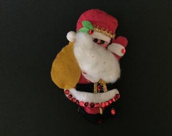 Vintage voelde Santa Claus