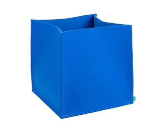 XS/S Felt Box, Blue Storage, Grey Basket, Storage Bin, Pink Storage Box,  Navy Bin, Light Grey Felt, Gopher