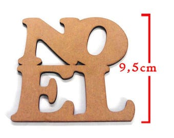 MDF Word Christmas ornaments. About 9.5 cm designs. Christmas decoration embellishment.