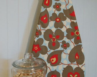 Designer Ironing Board Cover - Amy Butler Soul Blossoms in Linen