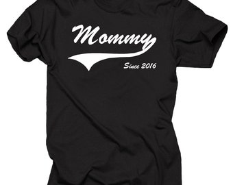 Gift For New Mom Mother Mommy Since 2016 T-Shirt Gift For Mother