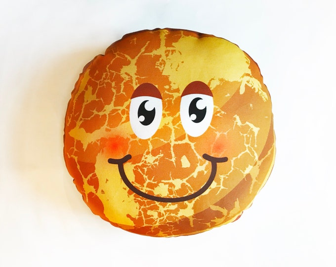 Planet pillow- Space theme kids decor- Mercury