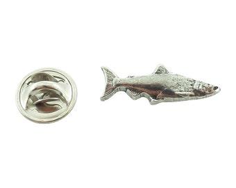Coho Salmon ~ Lapel Pin/Brooch ~ F046MP