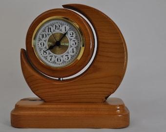Crescent Desk Clock