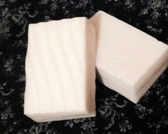 Unscented Goats Milk Soap, Rectangular Bar of Soap, Plain Soaps, Bars of Soap, Made to Order