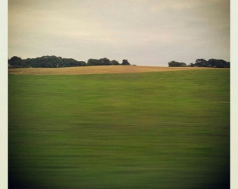 Landscape miniature photography - English calming countryside