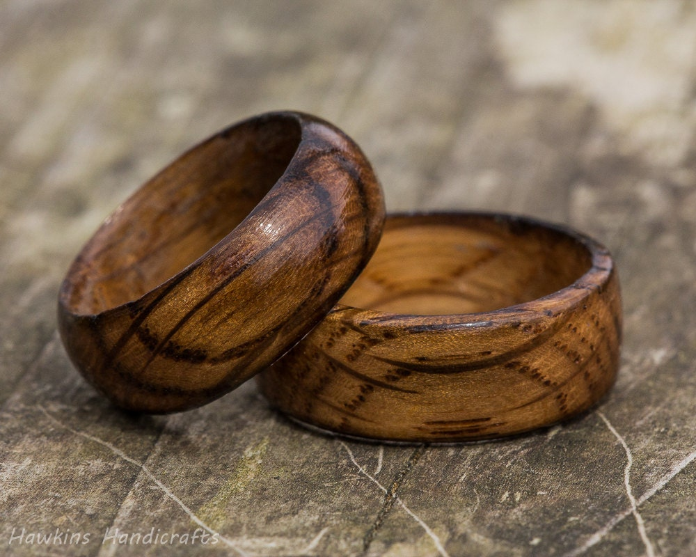 mens band handmade wedding womens wood rings fullxfull ring whiskey listing titanium barrel set il charred oak