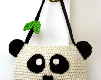 Panda Purse - PDF Crochet Pattern - Instant Download