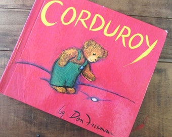 Children's Book Corduroyby Don Freeman Picture Book Classic Literature