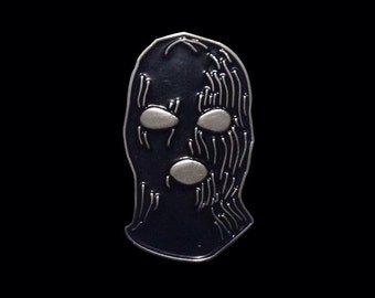 Ski Mask - Enamel Pin