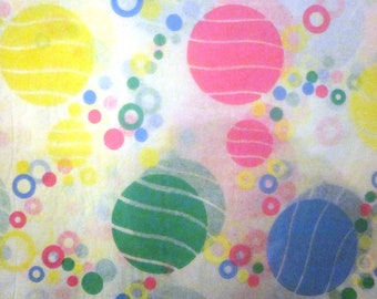 Vintage Wrapping Paper - Ball-y Celebration Gift Wrap - Full Sheet