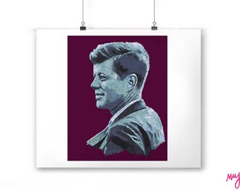 JFK Print