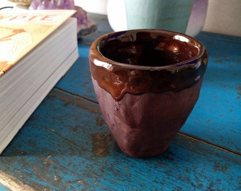 Chocolate espresso cup