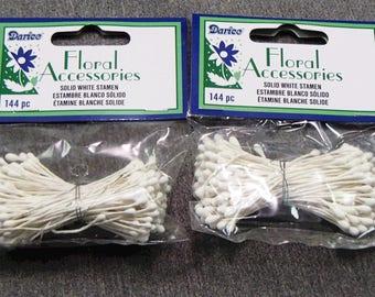 White Stamen Flower Stamen Floral Accessories Flower Accessories Flower Centers