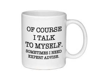 Expert Advise Mug - black or white