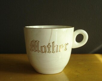 Best Mom...err Mug in the World - Vintage Mother Coffee Cup or Mug