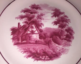 Copeland Spode Country Cottage Salad Plate.