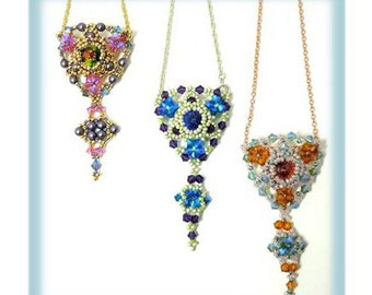 Gran Bellagio Pendant Pattern - Instant Download