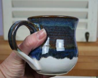 Tea, Cappuccino, Coffee, Latte Stoneware Pottery Mug