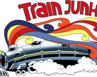Greensky Bluegrass Train Junkie Soul Train T-Shirt
