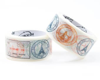20mm travel stamps washi tape
