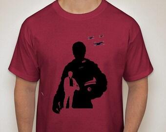 Star Wars: The Force Awakens- Poe Silhouette T-Shirt