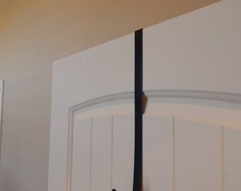 Black Wreath Hanger, Wreath Holder, Wreath Hook, Door wreath, Hanger for Wreaths, Metal Door Hook, Door Hook, Door Wreath Hook, Wreath Acces