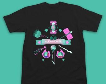 Steven Universe Shirt Alexandrite Steven Universe T-Shirt - Steven Universe T Shirt - Steven Universe Alexandrite Inksterinc Steven Universe