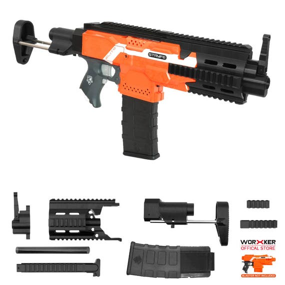 XSW Mod 3D Print HK 416C Carbine Imitation Kit Black For Nerf