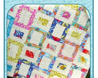 PDF Quilt Pattern Painted Windows  Carlene Westberg Designs
