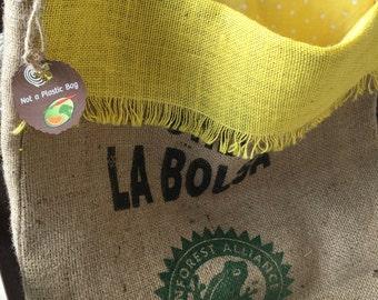 GIFT IDEA: Coffee Bean Sack / Farmers Market Totes
