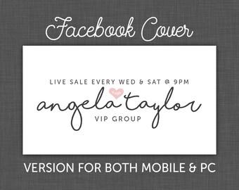Facebook Cover Hearts, Facebook Banner, xoxo, Facebook, Timeline Cover