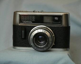 Voigtlander Vitoret Rapid D Vintage Camera -Nice-Color Lanthar-