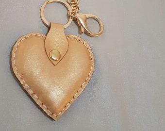 Handmade leather Keyring