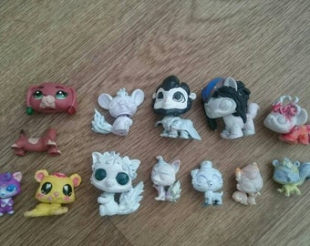 unfinished billets ooak lps figurines are a lot 12 cheap