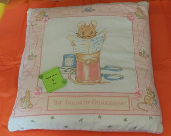 Beatrix Potter Cushion - Tailor of Gloucester