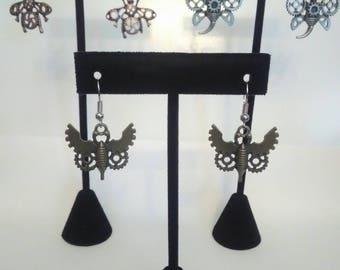 Steampunk Bug earrings
