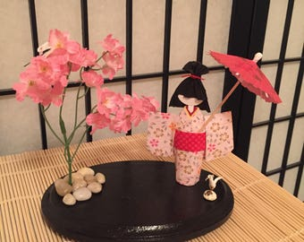 Japanese Origami Paper Doll